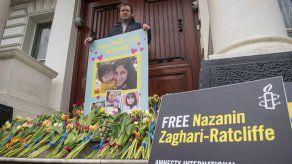 Británica-iraní cumple sentencia