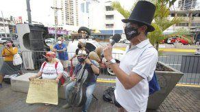 Artistas de Panamá exigen reactivación de la cultura tras un año sin laborar