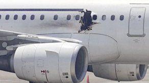 Video grabado por un pasajero muestra hueco en vuelo de Somalia tras explosión