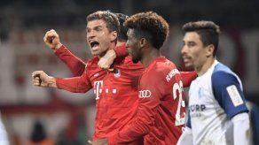 Gnabry y Müller salvan al Bayern de revés sorpresivo en Copa