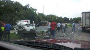 Se registra accidente en Vía Interamericana cerca de Loma Campana