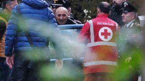 Italiano sentenciado por nexos con la mafia toma rehenes