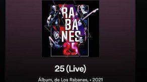 Los Rabanes lanzan álbum en vivo por sus 25 años de aniversario