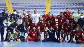 Selección futsal de Panamá tras obtener su pase al Mundial Lituania 2021