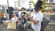 artistas de panama exigen reactivacion de la cultura tras un ano sin laborar