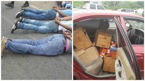La Policía Nacional frustra robo en La Chorrera y detiene a cuatro sospechosos