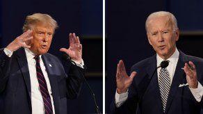 Trump dice que no irá al 2do debate con Biden si es virtual