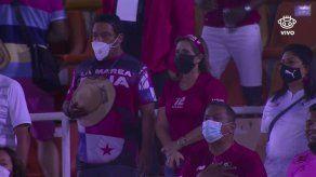 Fanáticos de Panamá presentes en el arranque de las eliminatorias a Catar 2022