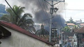 Sigue la guerra contra yihadistas en Filipinas con 100 posibles bajas civiles