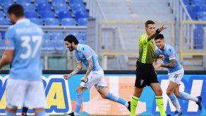 Lazio vence 1-0 a Sampdoria con un gol de Luis Alberto