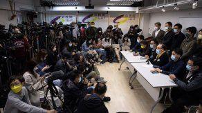 Hong Kong detiene a 53 opositores bajo la polémica Ley de Seguridad china