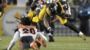 Steelers no descartan a Bell para partido ante Ravens