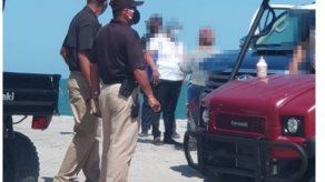 Policía puso a órdenes de las autoridades a 24 personas que se mantenían en la playa Buenaventura