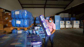ONU entrega al Gobierno de Panamá insumos para comunidades afectadas por huracanes Eta y Iota