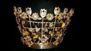 Detalles de las coronas tableñas del Martes de Carnaval