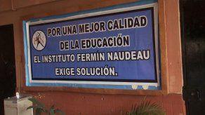 Docentes del Fermín Naudeau amenazan con paro por condiciones del plantel
