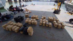 Cinco aprehendidos y 284 paquetes de droga decomisados al Sureste de Punta Coco