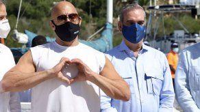 Vin Diesel se reúne con el presidente dominicano en la turística Puerto Plata