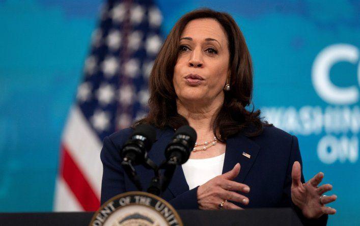 Kamala Harris es la funcionaria de mayor rango que se ha pronunciado sobre este asunto desde el Gobierno de EE.UU.