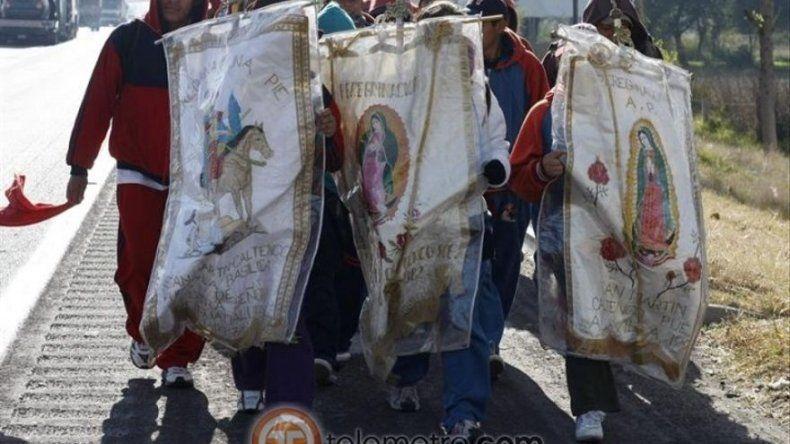 Festejos a la Virgen de Guadalupe