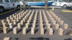 Decomisan 501 paquetes de droga en Punta Mala