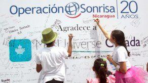 Operación Sonrisa curó deformaciones en la boca a 430 nicaragüenses
