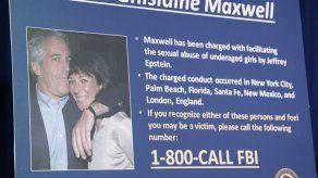Maxwell propone fianza de 5 millones por riesgo de COVID-19 en la cárcel