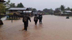 Inician la rehabilitación de Darién tras las afectaciones que dejó el huracán Iota