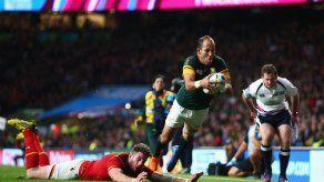 Sudáfrica remonta ante Gales y es el primer semifinalista del Mundial