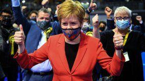 La última predicción este sábado de la BBC le otorga 63 escaños al SNP, a dos de la mayoría absoluta.