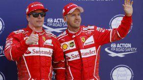 Raikkonen logra la pole en 1-2 de Ferrari en Mónaco