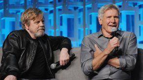 George Lucas y Harrison Ford brindan por los 40 años de Star Wars