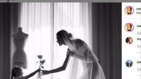 Carla Pereyra vuelve a vestirse de novia