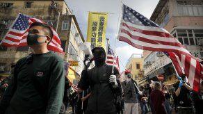 Protestan en Hong Kong contra comercio con China
