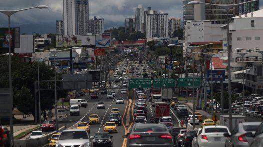 Vista de la ciudad de Panamá.