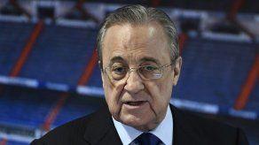 El presidente del Real Madrid Florentino Pérez da positivo por covid-19