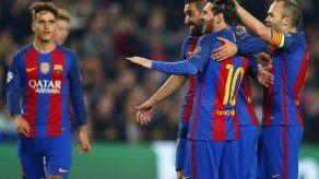 Messi se queda corto de récord de CR7; Napoli avanza
