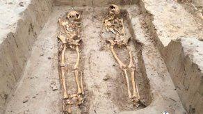 Encuentran esqueletos de unos 200 soldados de Napoleón en Fráncfort