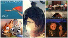 Películas animadas nominadas a los Premios Oscar 2017