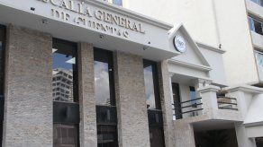 Fachada de la Fiscalía General de Cuentas.