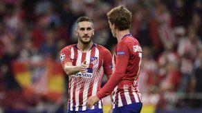 El Atlético de Madrid gana 3-1 al Brujas en la Liga de Campeones