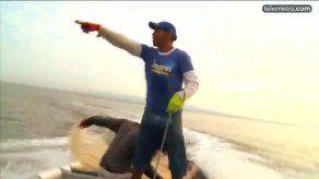 Los peligros que se enfrenta un pescador en las costas panameñas