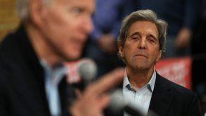 Biden elige a John Kerry como delegado especial para el clima