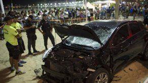 Muere bebé y hay 17 heridos tras incidente en Copacabana