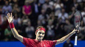 Otra final para Roger Federer en su natal Basilea