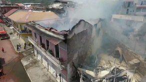 Anuncian reconstrucción de la Casa Rosada en el Casco Antiguo