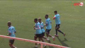 Luis Tejada se incorpora a entrenamientos de la selección