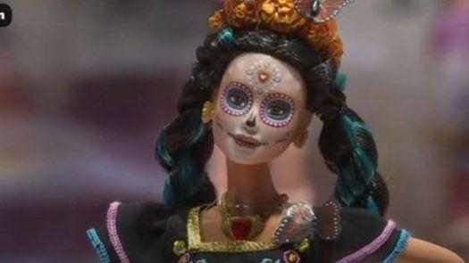 Barbie edición especial de Día de Muertos es presentada en México