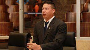 El diputado Luis Rafael Cruz Vargas del Partido Revolucionario Democratico (PRD).