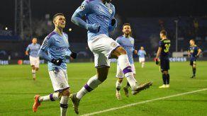 Manchester City cumple el trámite y vence en Zagreb por 4-1
